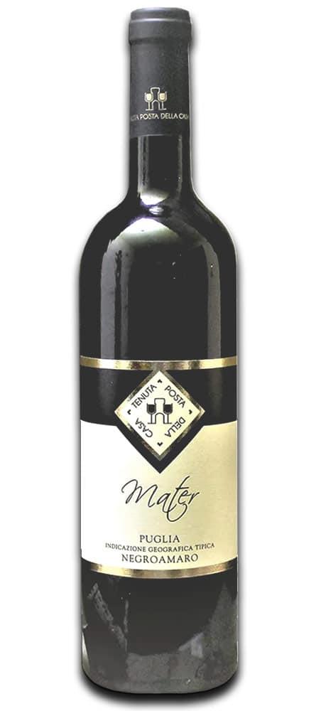 Negroamaro rosso MATER IGP Puglia-75cl Tenuta Posta della Casa