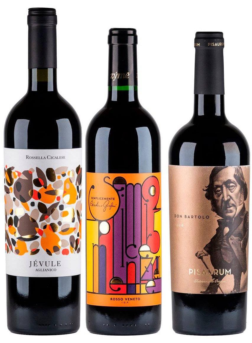 vini etichette vinitaly selezione Italia