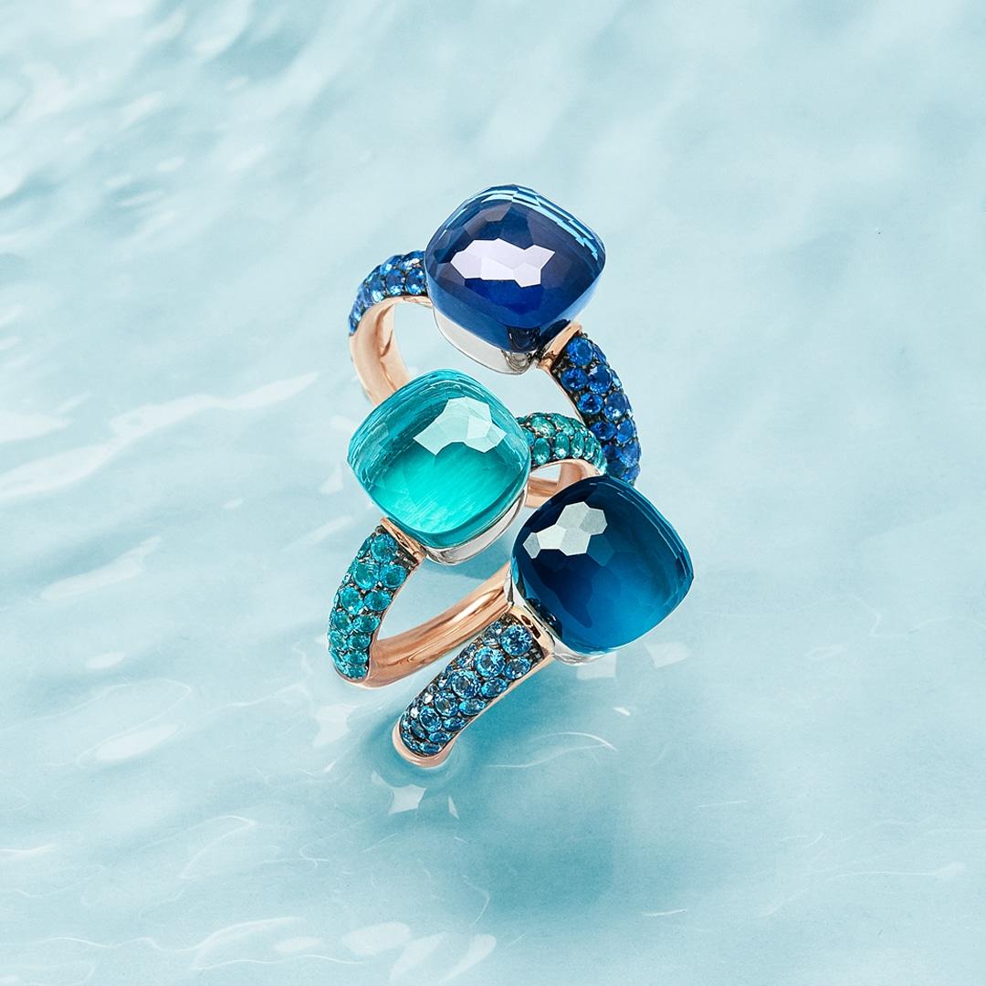 anelli pomellato nudo deep blue